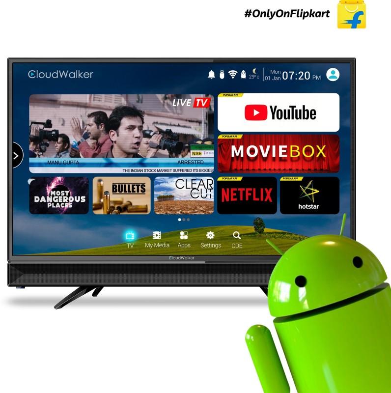 CloudWalker 80cm (32 inch) HD Ready LED Smart TV(CLOUD TV32SH)